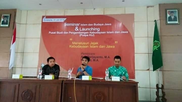 Dosen Prodi PMI Menjadi Pembicara Seminar Islam dan Budaya Jawa di IAIN Surakarta